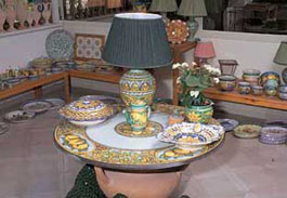 Piscitello ceramiche santo stefano di camastra